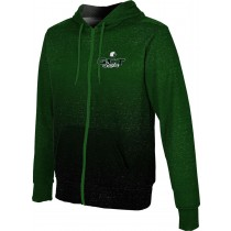ProSphere Boys' GREEN COUNTY TECH EAGLES Ombre Fullzip Hoodie