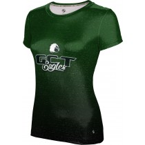 ProSphere Girls' GREEN COUNTY TECH EAGLES Ombre Shirt